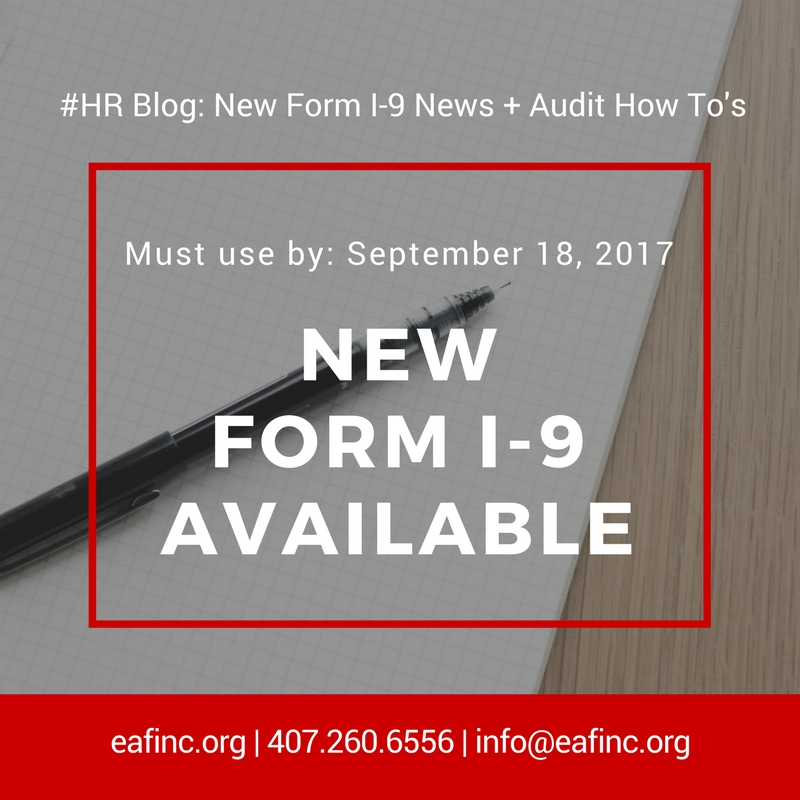 New Form I 9 Has Launched Plus Learn Audit How Tos